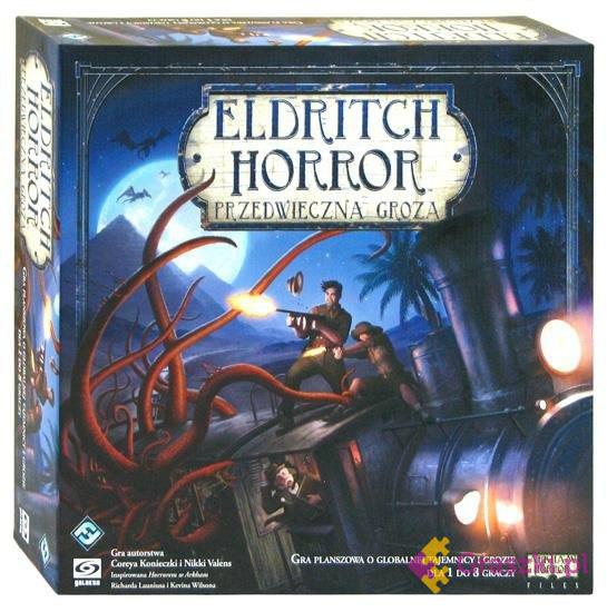 Eldritch Horror: Przedwieczna Groza (PL) | Galakta (darmowa dostawa)
